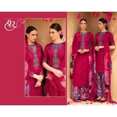 Cool Floral Salwar Kameez  for Summer