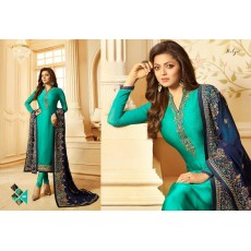 Gorgeous Georgette Salwar Kameez with Embroidery
