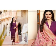 Georgette Designer Suits with Banarasi Dupatta